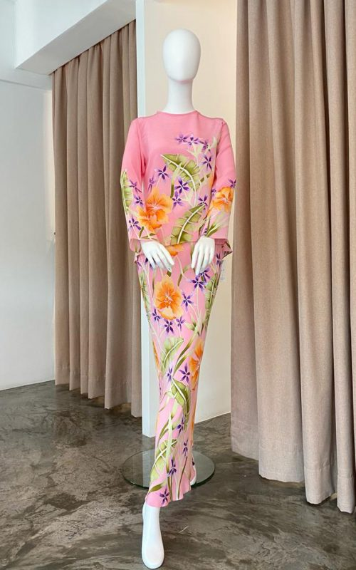Orchid Crepe Silk