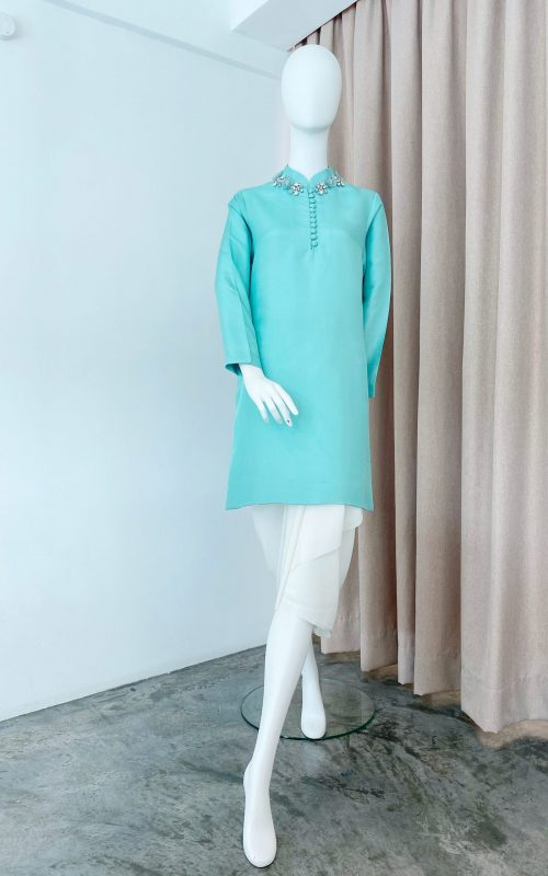 Kurta Top – Beaded Shantung