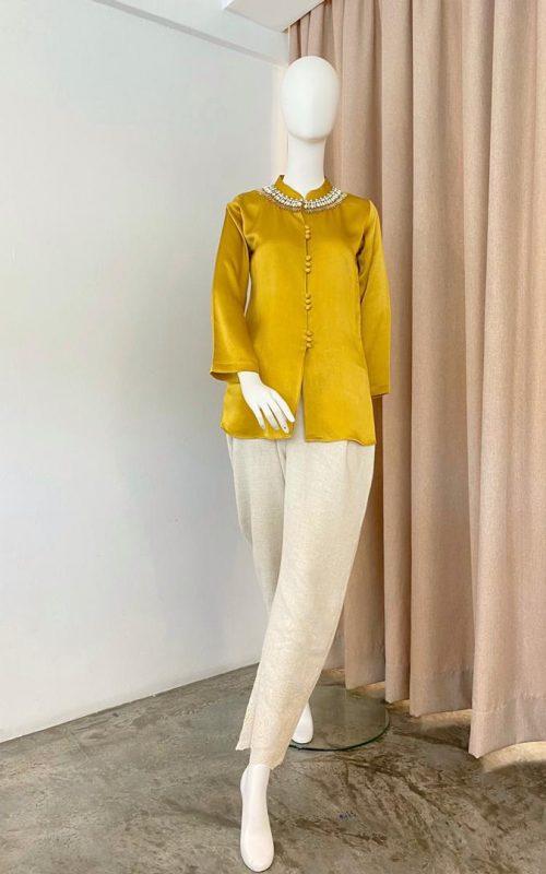 Juliana 2.0 Long Sleeve Top – Satin Silk