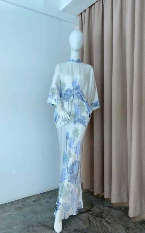 Juliana Set – Teratai Satin Silk