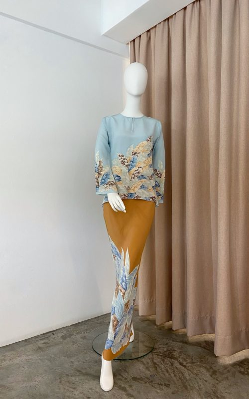 Pery Set – Butterfly Crepe Silk