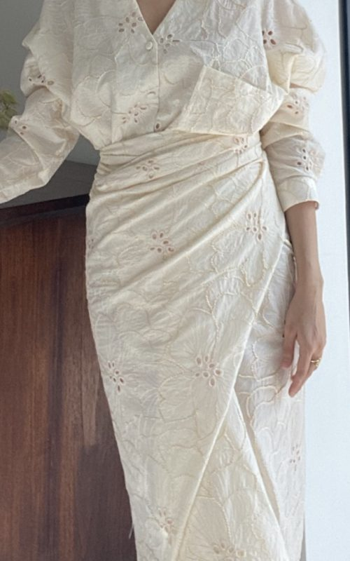 Instant Pareo – Cotton Embroidery